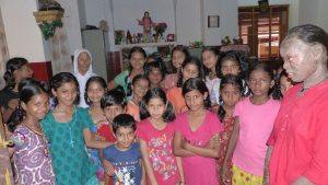 Help for children and disabled people in India, here the organization of Sisters of Charity, Mangalore